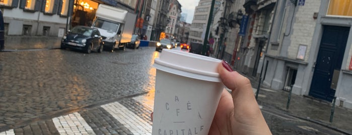 Café Capitale is one of Brussel.
