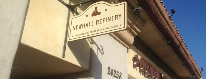 Newhall Refinery is one of Guests in Town I.