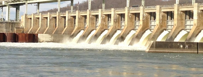 Chickamauga Dam is one of Chattanooga.
