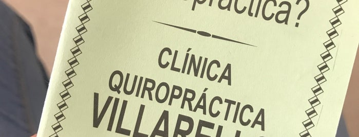 Clinica Quiropractica Villarelo is one of Médico.