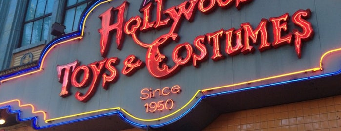 Hollywood Toys & Costumes is one of L.A..