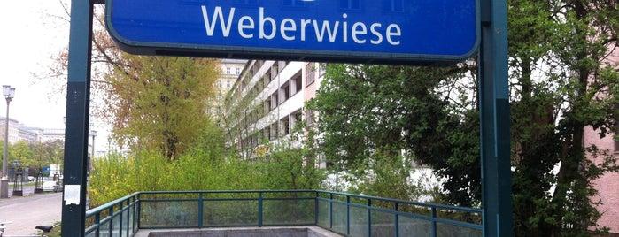 U Weberwiese is one of U & S Bahnen Berlin by. RayJay.