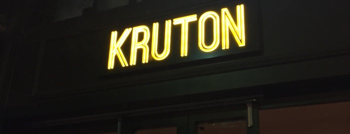 Kruton is one of Lol restaurants 🥂🍷.