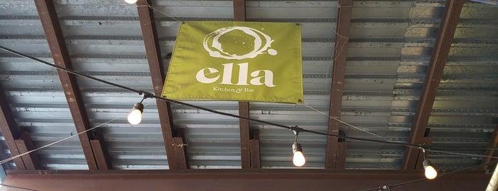 Ella (Kitchen & Bar) is one of Locais curtidos por Andrew.