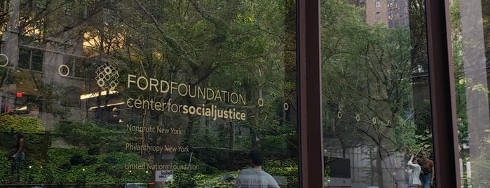 Ford Foundation is one of Secret Garden.