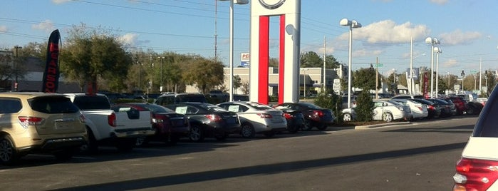 Ocala Nissan and Mitsubishi is one of สถานที่ที่ Ramon ถูกใจ.