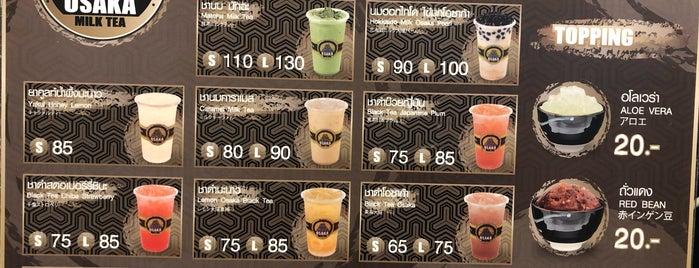 Osaka Milk Tea is one of BKK_Tea/ Chocolate/ Juice Bar.