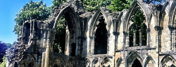 St Mary's Abbey is one of UK unseen.