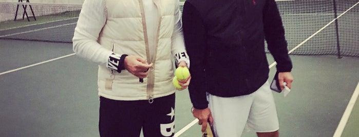 Ted tenis kulübü balon kortları is one of Bengü Deliktaş'ın Beğendiği Mekanlar.