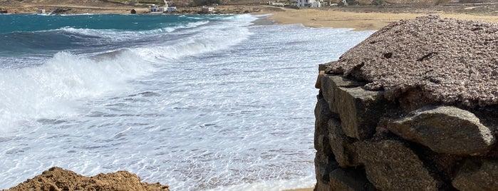 Ftelia Beach is one of Mykonos.