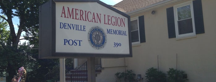 American Legion Post 390 is one of American Legion Posts Visited.