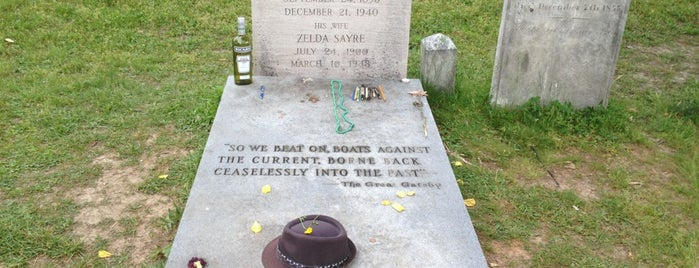 F. Scott Fitzgerald's Grave is one of Wanderlust.