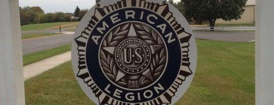 American Legion Posts Visited