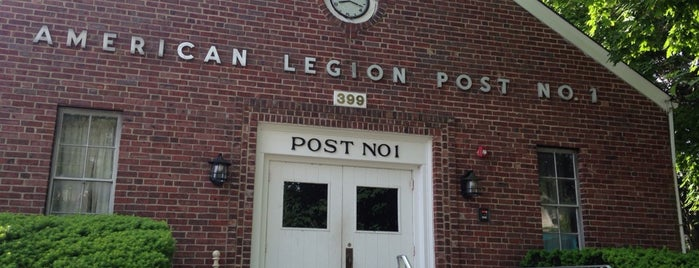 American Legion Post 1 is one of American Legion Posts Visited.
