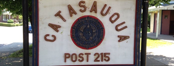American Legion Post 215 is one of American Legion Posts Visited.