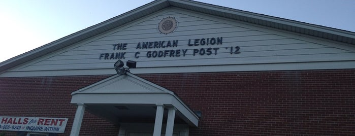 American Legion Post 12 is one of American Legion Posts Visited.