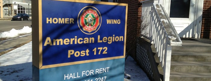 American Legion Post 172 is one of American Legion Posts Visited.