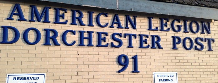 American Legion Post 91 is one of American Legion Posts Visited.