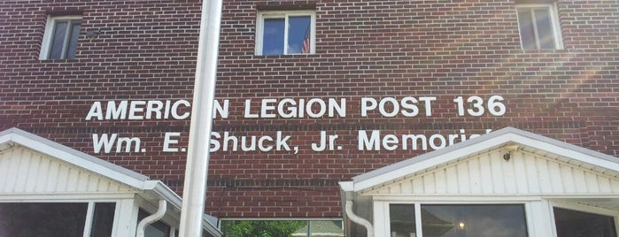 American Legion Post 136 is one of American Legion Posts Visited.
