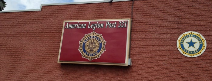 American Legion Post 331 is one of American Legion Posts Visited.