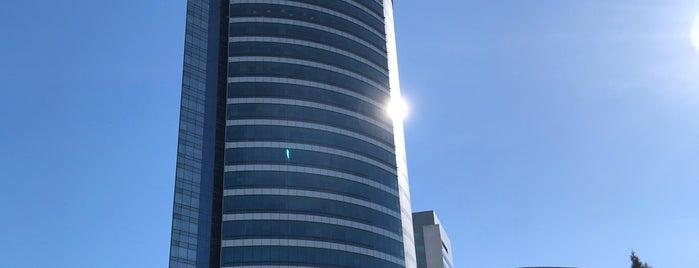 Antel - Complejo Torre de las Telecomunicaciones is one of Lugares guardados de Fabio.