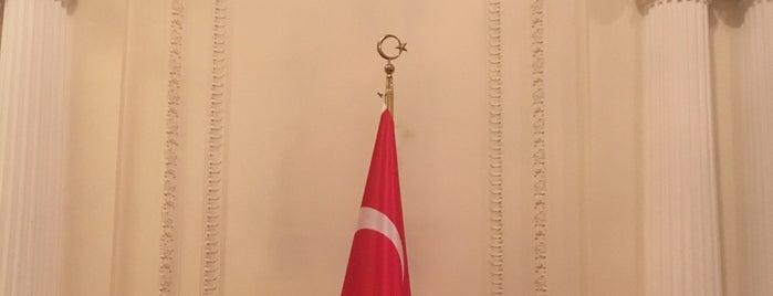 Türkiye Cumhuriyeti Büyükelciliği İkametgah is one of Erkan 님이 좋아한 장소.