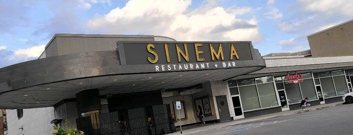Sinema is one of Nashville.