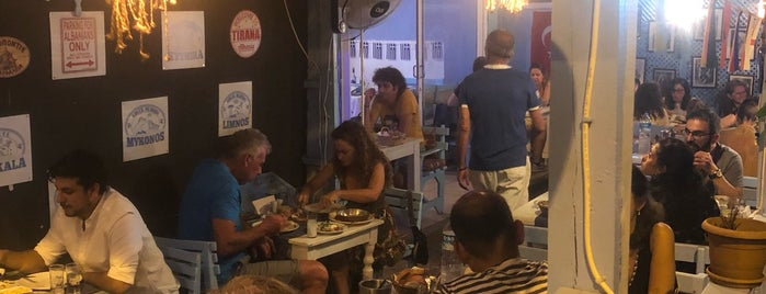 Manos Greek Tavern is one of Kaş.