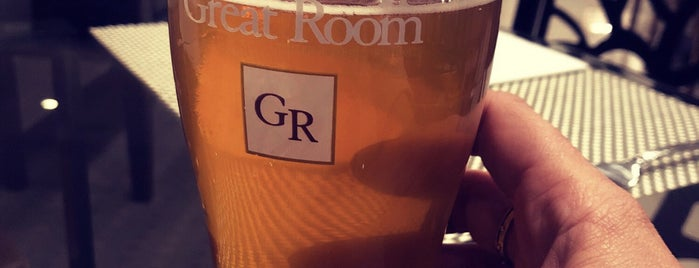 The Great Room is one of Locais curtidos por Larissa.
