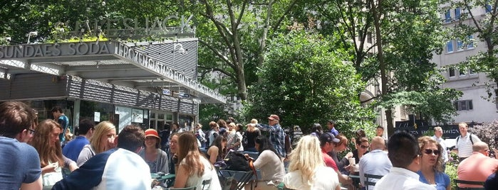 Shake Shack is one of Agolo's Favourite Lunch Spots.