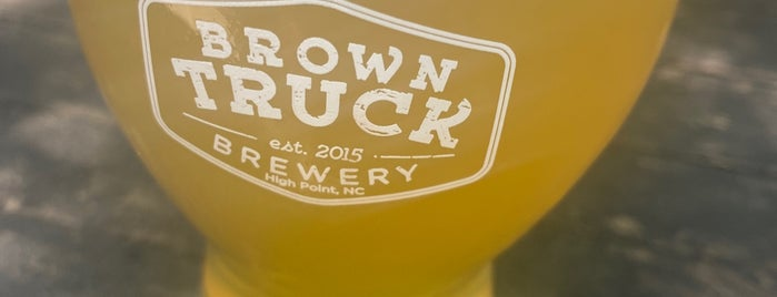Brown Truck Brewery is one of NC Craft Breweries.