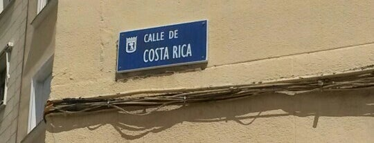 Calle Costa Rica is one of Madrid.