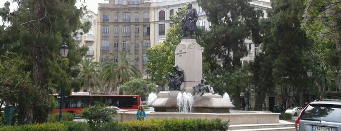 Plaza Canovas del Castillo is one of Valencia.