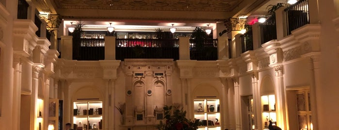 The Lobby At The Nomad Hotel is one of Weeves & Jooster.