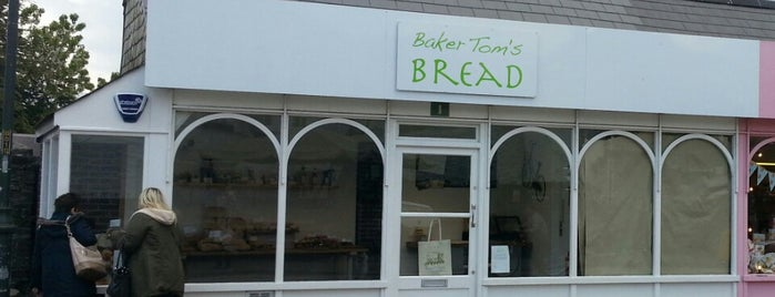 Baker Tom's Bread is one of Cornwall.