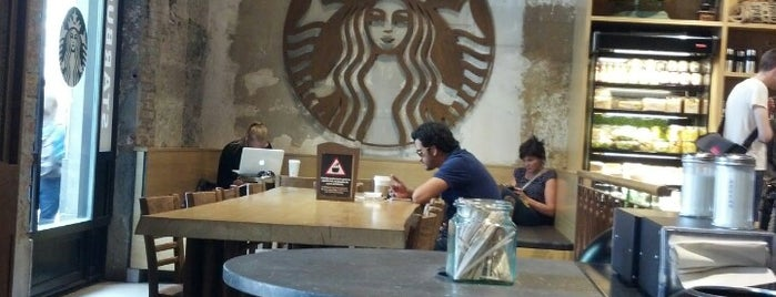 Starbucks is one of coffee in barcelona.
