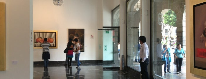 Galería de Arte del Palacio Municipal is one of Lieux qui ont plu à Andrea.