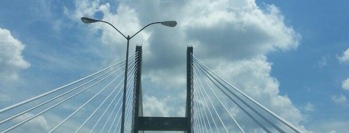 Eugene Talmadge Memorial Bridge is one of St. Patty's Trip.