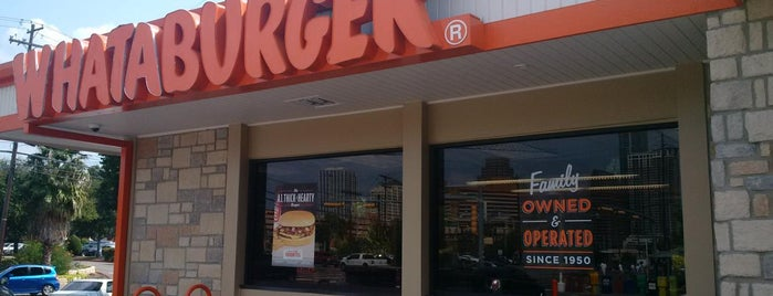 Whataburger is one of Locais curtidos por Greg.