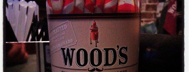 Wood's High Mountain Distillery is one of Locais curtidos por Emily.