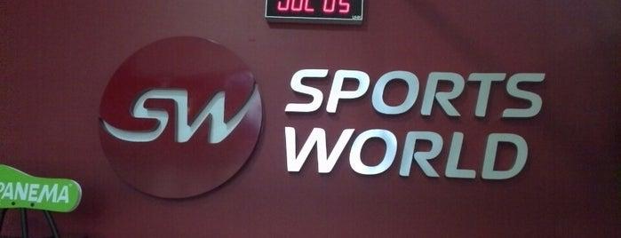 Sports World FIT is one of Tempat yang Disukai Mariano.