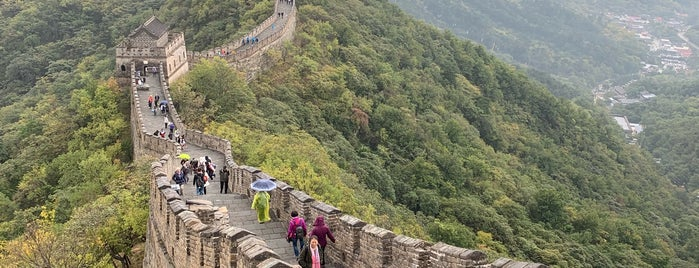 The Great Wall at Mutianyu is one of Noooossa.