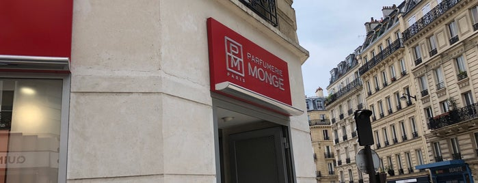 Parfumerie Monge is one of Paris.