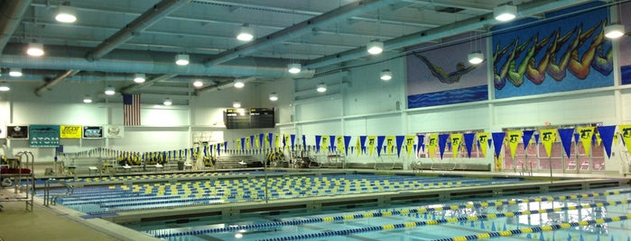 Mecklenburg County Aquatic Center is one of Active Charlotte.