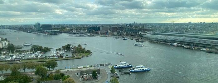A'DAM Toren is one of Amsterdam.