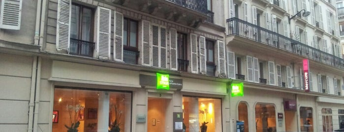 Ibis Styles Paris Lafayette is one of Posti che sono piaciuti a Татьяна.
