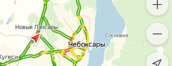 Cheboksary is one of Киров, Йошка, Чебы.