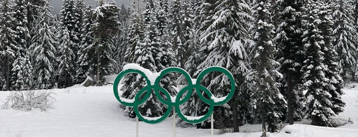 Whistler Olympic Park is one of Locais salvos de Javier.