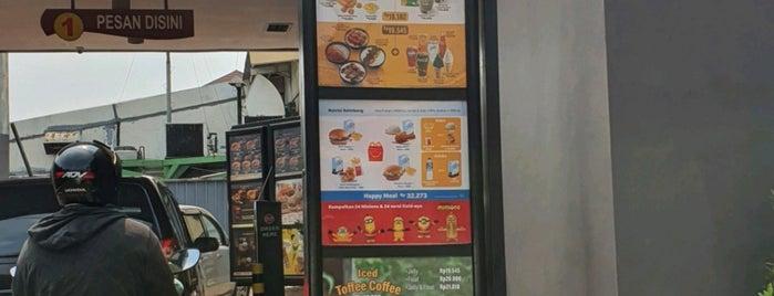 McDonald's is one of Orte, die Arie gefallen.