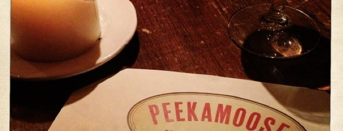 Peekamoose Restaurant is one of Posti salvati di Sara.
